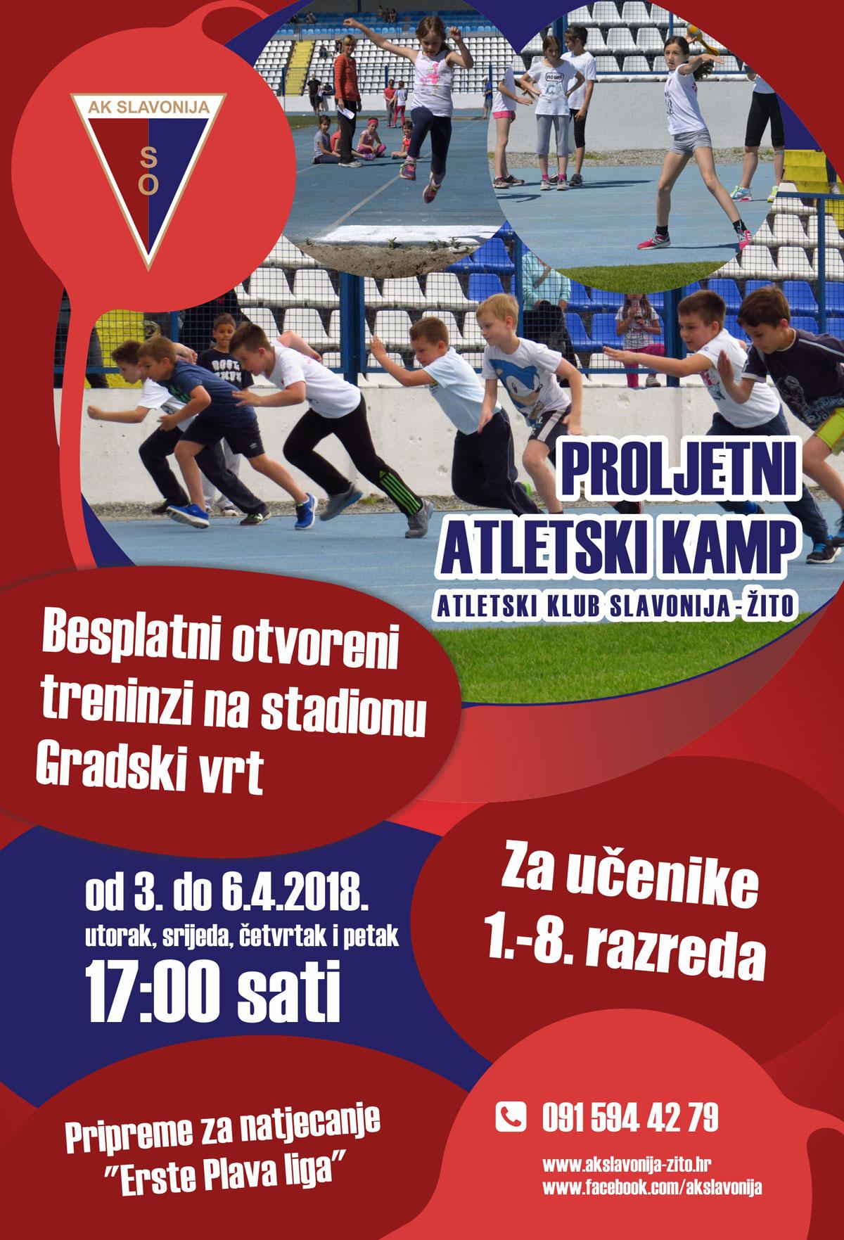 Plakat-Proljetni-atletski-kamp-2018